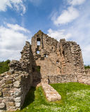 Elphinstone Tower ruins at Kildrummy castle uk Scotland Royalty Free Stock Image