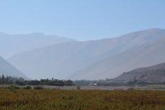 Elqui dolina, Chile obraz stock