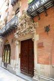 Els Quatre Gats, casa Martí, Barcelona, Espanha Imagens de Stock