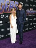 Elsa Pataky and Chris Hemsworth stock photography