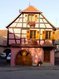 Elsass - Berkheim 19. Berkheim entrance to the city.Medieval city.wine Route.Romantik pur Royalty Free Stock Images