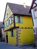 Elsass - Berkheim 18. Berkheim entrance to the city.Medieval city.wine Route.Romantik pur Stock Image