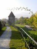 Elsass - Berkheim 16. Berkheim entrance to the city.Medieval city.wine Route.Romantik pur Stock Images