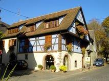 Elsass - Berkheim 15. Berkheim entrance to the city.Medieval city.wine Route.Romantik pur Royalty Free Stock Image