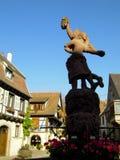Elsass - Berkheim 14. Berkheim entrance to the city.Medieval city.wine Route.Romantik pur Stock Images