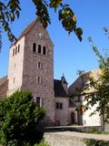 Elsass - Berkheim 13. Berkheim entrance to the city.Medieval city.wine Route.Romantik pur Royalty Free Stock Photo