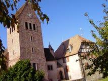 Elsass - Berkheim 11. Berkheim entrance to the city.Medieval city.wine Route.Romantik pur Stock Images
