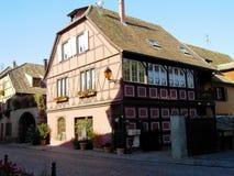 Elsass - Berkheim 10. Berkheim entrance to the city.Medieval city.wine Route.Romantik pur Royalty Free Stock Photos