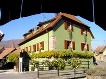 Elsass - Berkheim 9. Berkheim entrance to the city.Medieval city.wine Route.Romantik pur Royalty Free Stock Images
