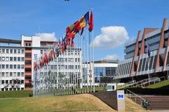 Elsass, die malerische Stadt von Straßburg in Bas Rhin lizenzfreie stockfotos