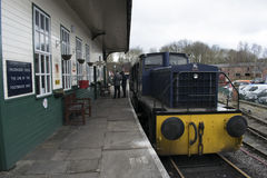 Elsecar Heritage Railway Station & Depot Stock Photography