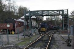 Elsecar Heritage Railway Station & Depot Royalty Free Stock Images