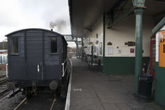 Elsecar Heritage Railway Station & Depot Royalty Free Stock Images