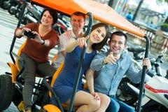 Eltern- und Kinderreisen Lizenzfreies Stockfoto