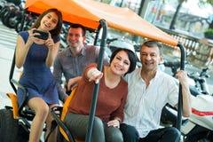 Eltern- und Kinderreisen Lizenzfreie Stockbilder