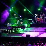 Elton John: Concierto exclusivo en Andorra 2015 imagenes de archivo
