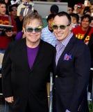 Elton John and David Furnish Royalty Free Stock Images