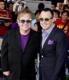 Elton John and David Furnish Royalty Free Stock Photos