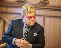 Elton John Royalty Free Stock Photo