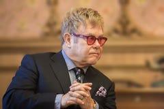 Elton John portrait Stock Image