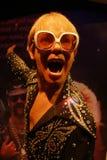Elton John Wax Figure Stock Image
