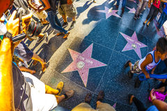 Elton Johns star on Hollywood Walk Royalty Free Stock Images