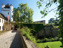 Eltville Castle. In the town of Eltville is located on the Rhine in the wine-growing area of the Rheingau Stock Images