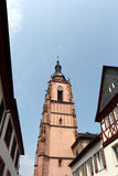 Eltville, Germany. Old street in Eltville am Rhein, Hesse, Germany Royalty Free Stock Images