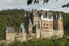城堡eltz德国 图库摄影