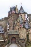 城堡eltz德国 库存图片