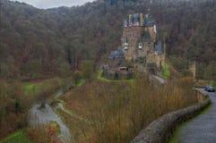 城堡eltz德国 免版税库存照片