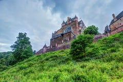 Eltz Castle σε Ρηνανία-Παλατινάτο, Γερμανία Στοκ φωτογραφία με δικαίωμα ελεύθερης χρήσης
