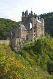 Eltz castle. Burg Eltz, a castle in the Moselle region, Germany Stock Image