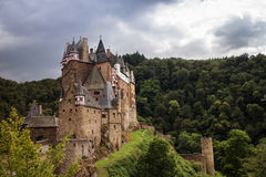 Eltz Castle, Germany. Eltz castle in the forest, Germany Stock Images
