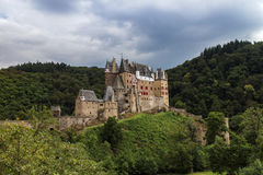 Eltz Castle, Germany. Eltz castle in the forest, Germany Royalty Free Stock Photo