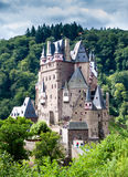 Eltz Castle, Germany. Eltz Castle, a medieval castle located on a hill in the forest stock photos