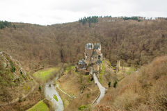 Eltz Castle, a medieval castle located in Germany Stock Photography