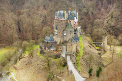 Eltz Castle, a medieval castle located in Germany Royalty Free Stock Photo