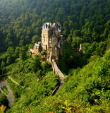 Eltz Castle. Is a medieval castle nestled in the hills above the Mosel (Moselle) River between Koblenz and Trier, Germany. It is still owned by a branch of the Royalty Free Stock Photography