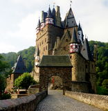 Eltz Castle. Is a medieval castle nestled in the hills above the Mosel (Moselle) River between Koblenz and Trier, Germany. It is still owned by a Royalty Free Stock Photos