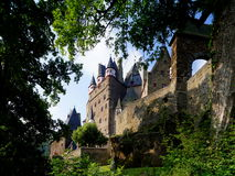 Eltz Castle. Is a medieval castle nestled in the hills above the Mosel (Moselle) River between Koblenz and Trier, Germany. It is still owned by a branch of the Royalty Free Stock Photos