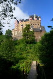 Eltz Castle. Is a medieval castle nestled in the hills above the Mosel (Moselle) River between Koblenz and Trier, Germany. It is still owned by a branch of the Royalty Free Stock Photo
