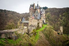 Eltz Castle - medieval castle in Germany Royalty Free Stock Photography