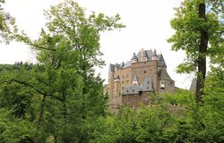 Eltz Castle. Royalty Free Stock Photo