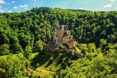 Eltz Castle in Rhineland-Palatinate, Germany. Stock Photography