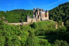 Eltz Castle in Rhineland-Palatinate, Germany. Stock Photo
