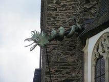 Burg Eltz castle detail near Mosel River valley, Germany royalty free stock photos