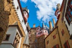 Eltz kasztel, Niemcy, Europa Obrazy Royalty Free