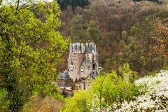 Eltz-Schloss - mittelalterliches Schloss in Deutschland Lizenzfreie Stockfotografie
