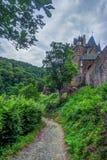 Eltzkasteel in Rijnland-Palatinaat, Duitsland royalty-vrije stock fotografie